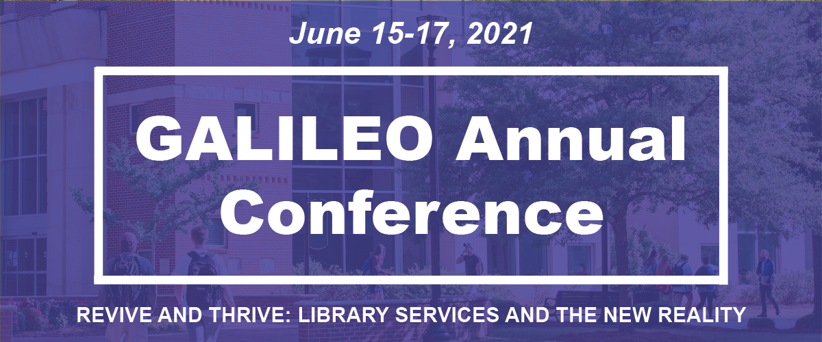 A visual image for the news item title GALILEO's Free Library Conference to Feature 30 Sessions, 50 Speakers
