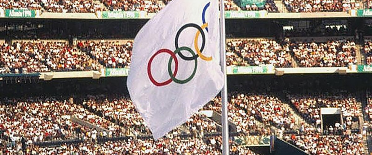 A visual image for the news item title Celebrating Georgia's Olympics History