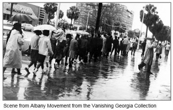 Albany Movement Photograph