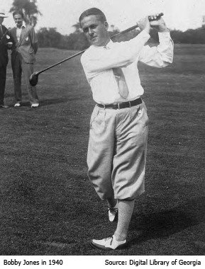 Bobby Jones in 1940