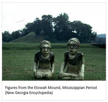 Echota mound figures