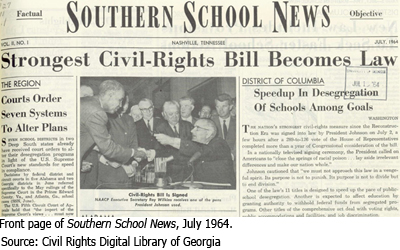 50th anniversary of the civil rights act of 1964